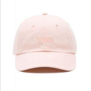 Vans Court Side Baseball Cap Hat Rose Cloud Pink